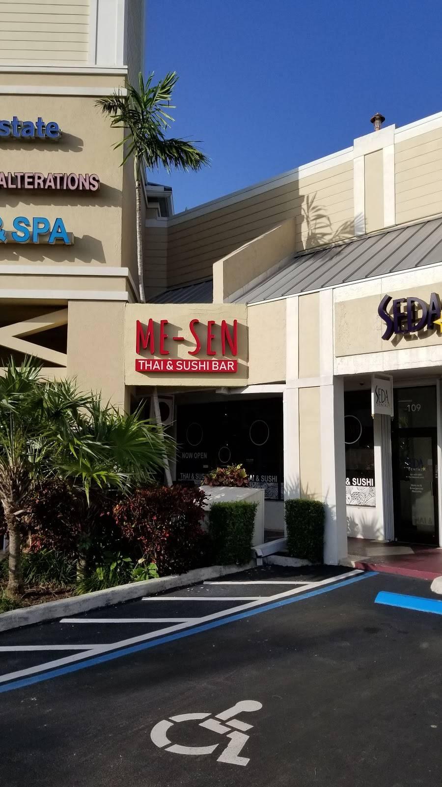 Me-Sen Thai & Sushi Bar | restaurant | 6063 SW 18th St, Boca Raton, FL 33433, USA | 5615716024 OR +1 561-571-6024