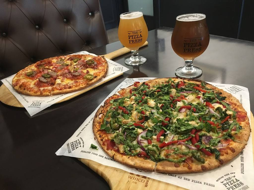 The Pizza Press | restaurant | 1327 W Whittier Blvd, La Habra, CA 90631, USA | 5622663113 OR +1 562-266-3113