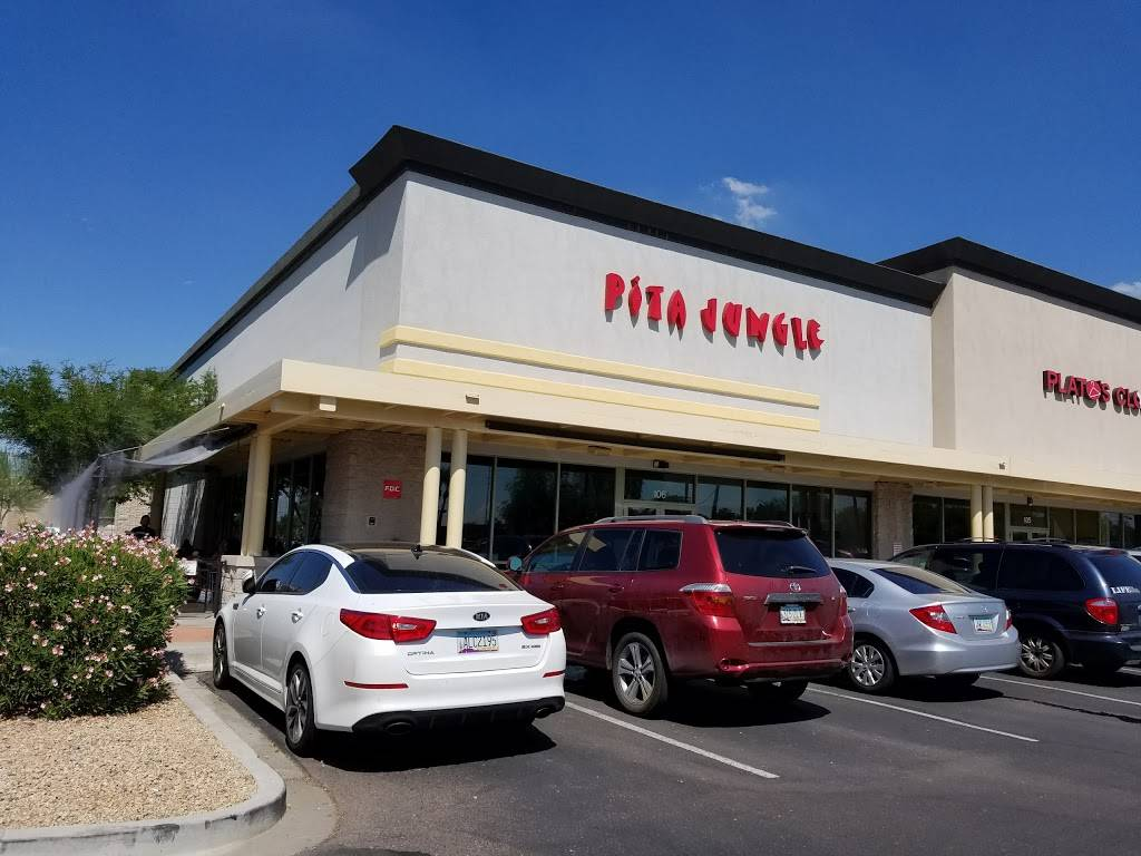 Pita Jungle - Arrowhead | restaurant | 7530 W Bell Rd #106, Glendale, AZ 85308, USA | 6234862615 OR +1 623-486-2615