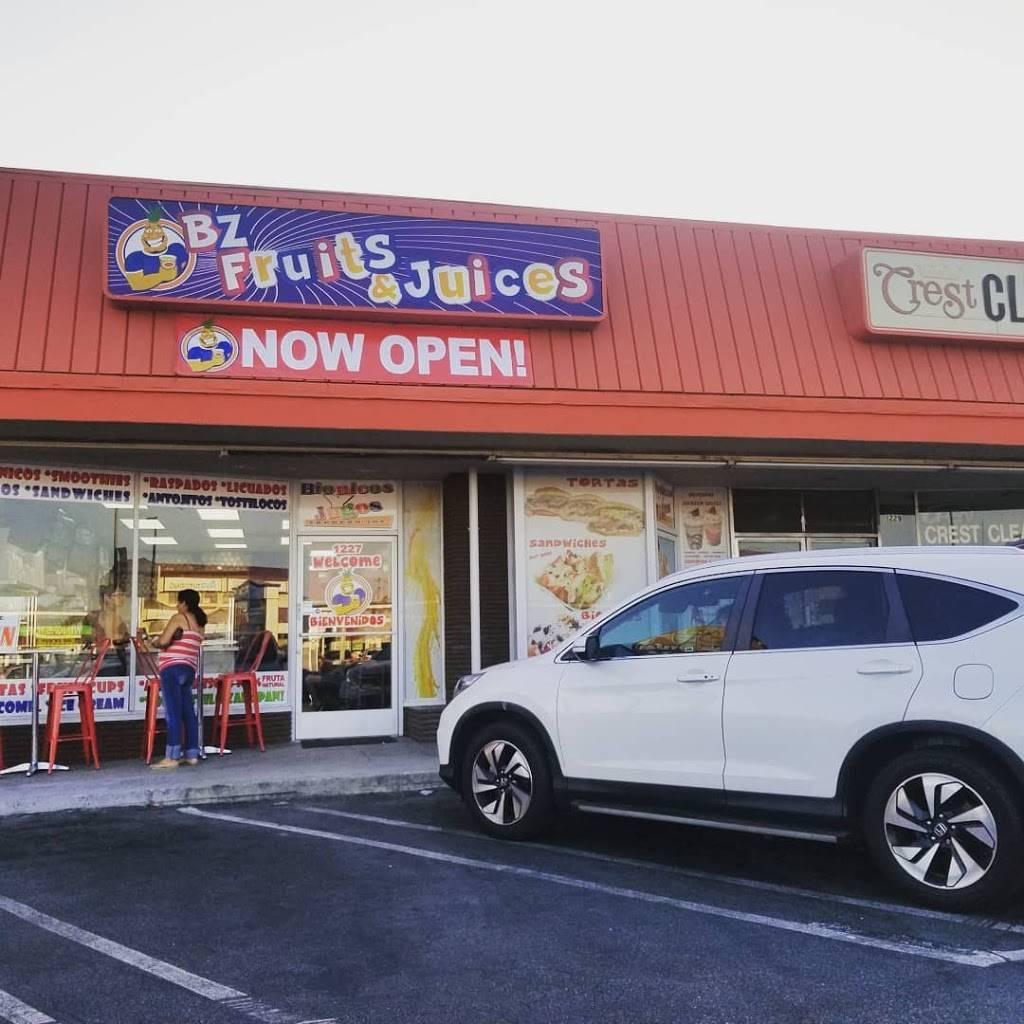 BZ Fruits & Juices Inc. | restaurant | 1227 N Hacienda Blvd, La Puente, CA 91744, USA | 6265984200 OR +1 626-598-4200