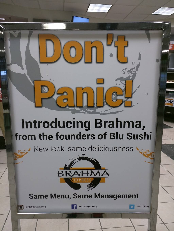 Brahma Express | restaurant | 10501 Fgcu Blvd N, Fort Myers, FL 33965, USA