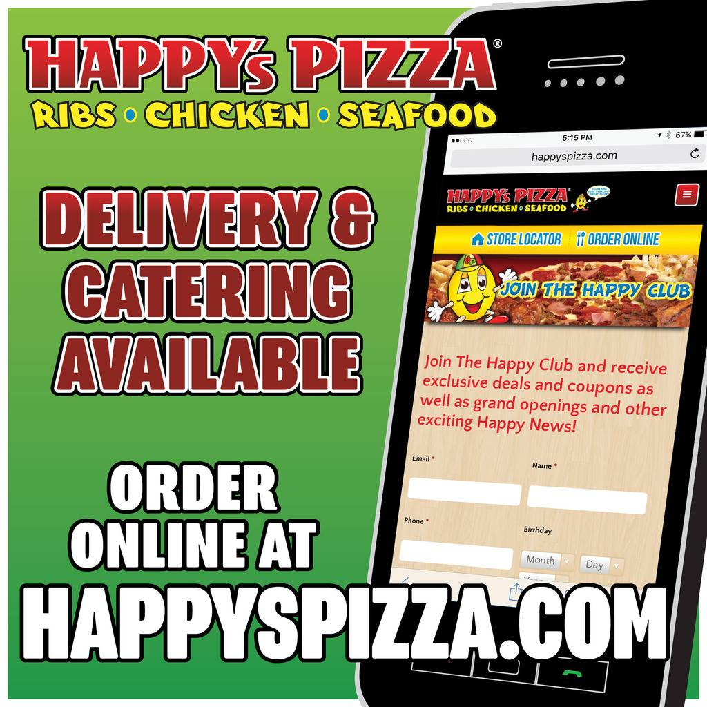 Happys Pizza | meal delivery | 3517 S Fort St, Detroit, MI 48217, USA | 3133822222 OR +1 313-382-2222