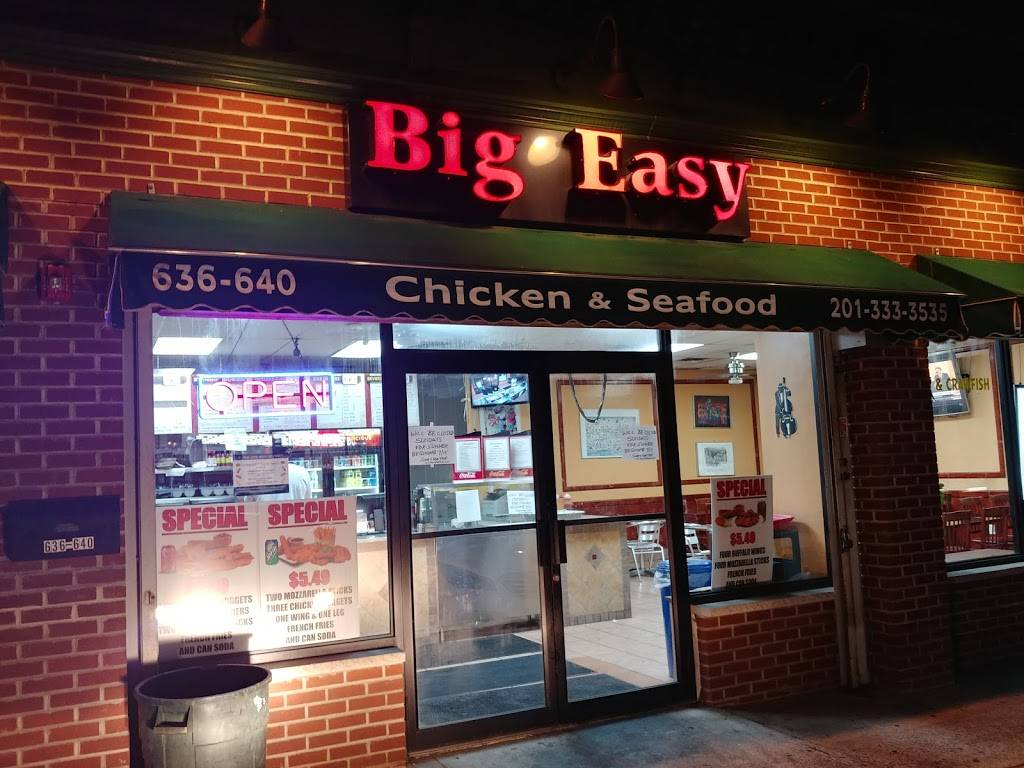Big Easy | restaurant | 640 Communipaw Ave, Jersey City, NJ 07304, USA | 2013333535 OR +1 201-333-3535