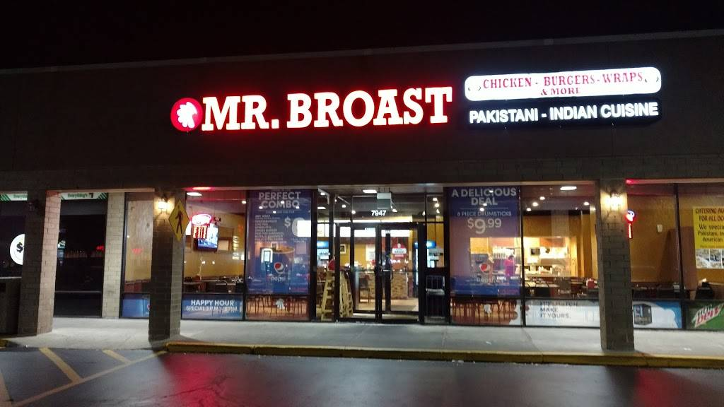 Mr.Broast Xpress Mg | restaurant | 9402 Waukegan Rd, Morton Grove, IL 60053, USA | 8473249115 OR +1 847-324-9115