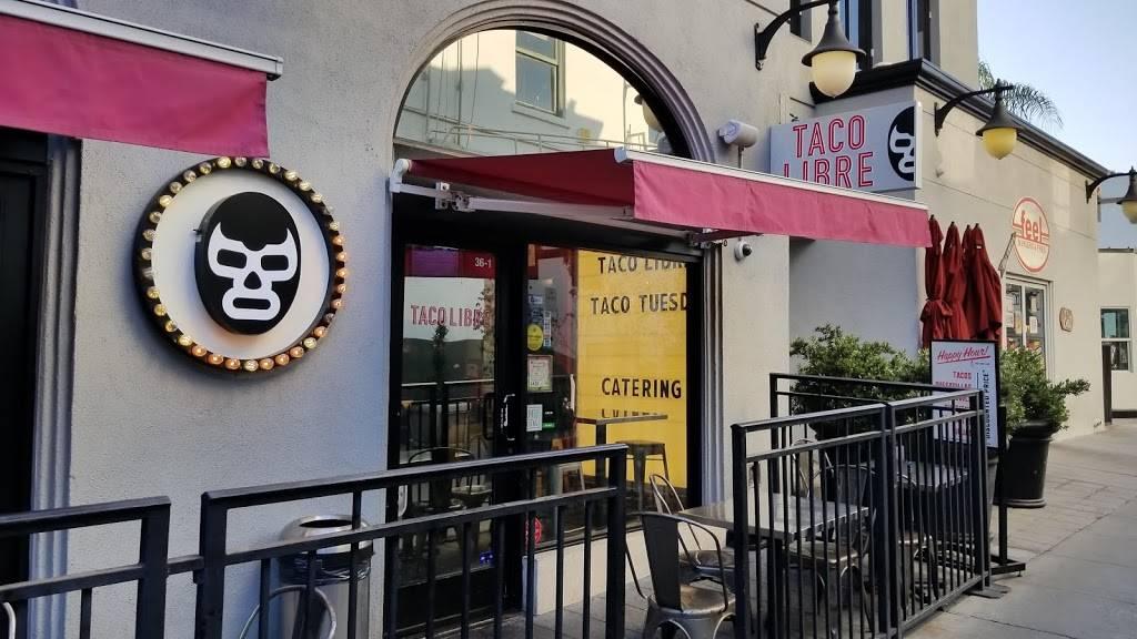 Taco Libre | restaurant | 36 W Colorado Blvd, Pasadena, CA 91105, USA | 6265840666 OR +1 626-584-0666