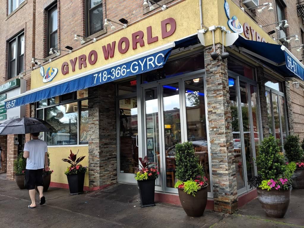 Gyro World Ridgewood | restaurant | 66-57 Fresh Pond Rd, Ridgewood, NY 11385, USA | 7183664976 OR +1 718-366-4976