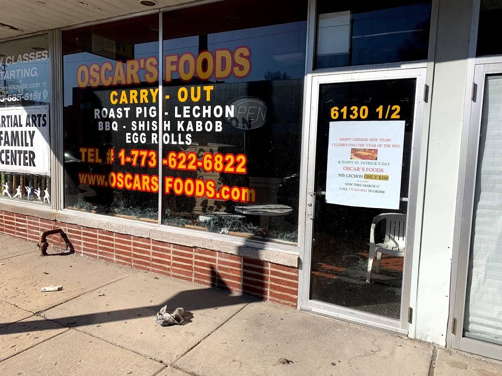 Oscars Foods | restaurant | 6130 1/2 W Belmont Ave, Chicago, IL 60634, USA | 7736226822 OR +1 773-622-6822