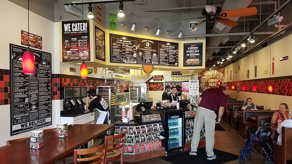 Jimmy Johns | meal delivery | 2519 McMullen Booth Rd, Clearwater, FL 33761, USA | 7272590000 OR +1 727-259-0000