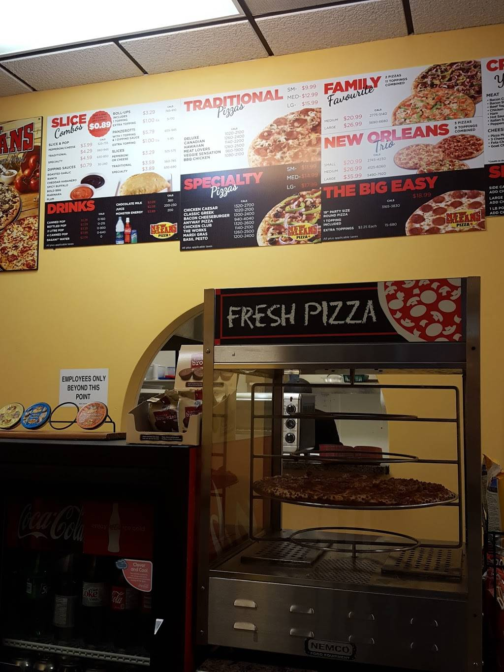 New Orleans Pizza | meal delivery | 234 Main St S, Mount Forest, ON N0G 2L2, Canada | 5193234443 OR +1 519-323-4443