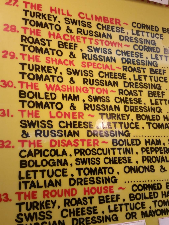 Sub Shack & Deli | meal takeaway | 312 Main St, Hackettstown, NJ 07840, USA | 9088526677 OR +1 908-852-6677