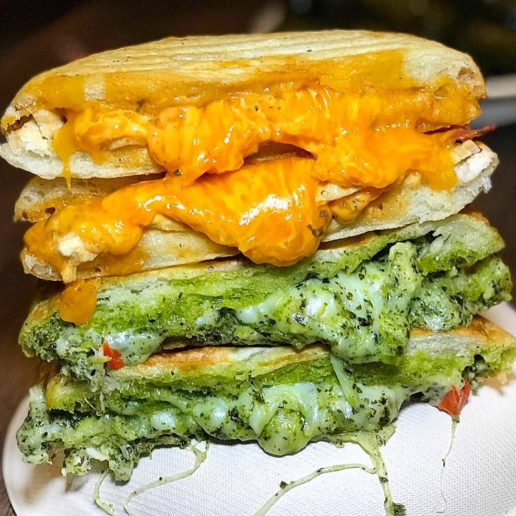Flatbread Grill | bakery | 26 Journal Square, Jersey City, NJ 07306, USA | 2017954180 OR +1 201-795-4180
