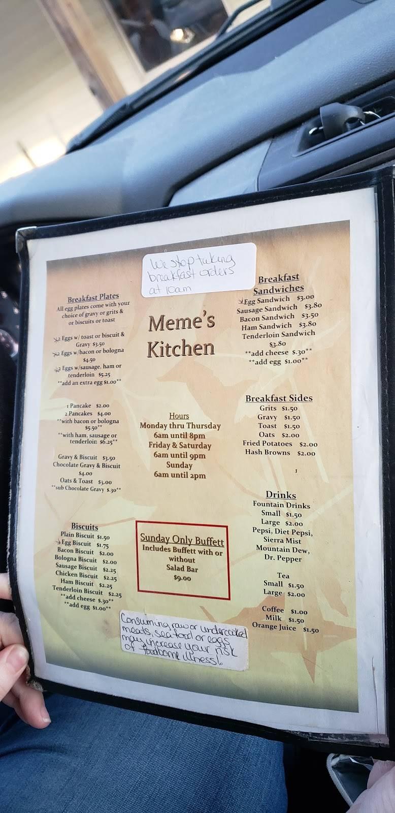 Meme S Kitchen Restaurant 927 Tn 13 Collinwood Tn 38450 Usa