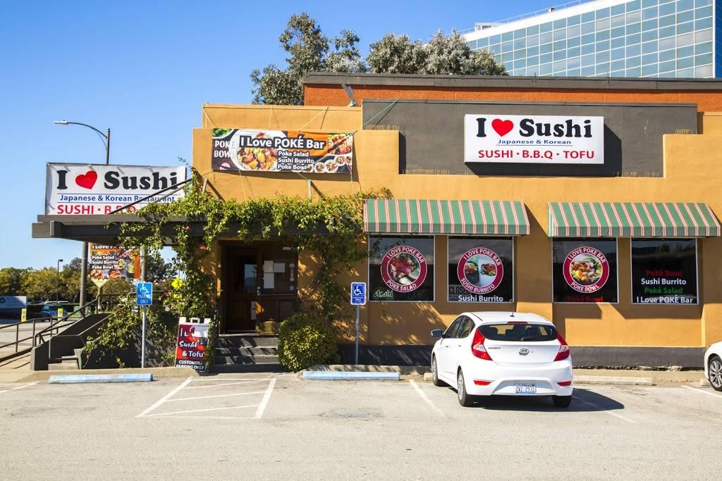 I Love Sushi & Tofu | restaurant | 1310 Old Bayshore Hwy, Burlingame, CA 94010, USA | 6504772859 OR +1 650-477-2859