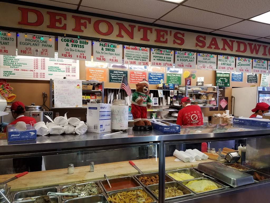 Defontes Sandwich Shop | restaurant | 379 Columbia St, Brooklyn, NY 11231, USA | 7186258052 OR +1 718-625-8052