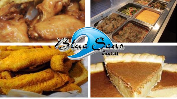 Blue Seas Express & Catering | meal takeaway | 3345, 890 Joseph E. Boone Blvd NW, Atlanta, GA 30314, USA