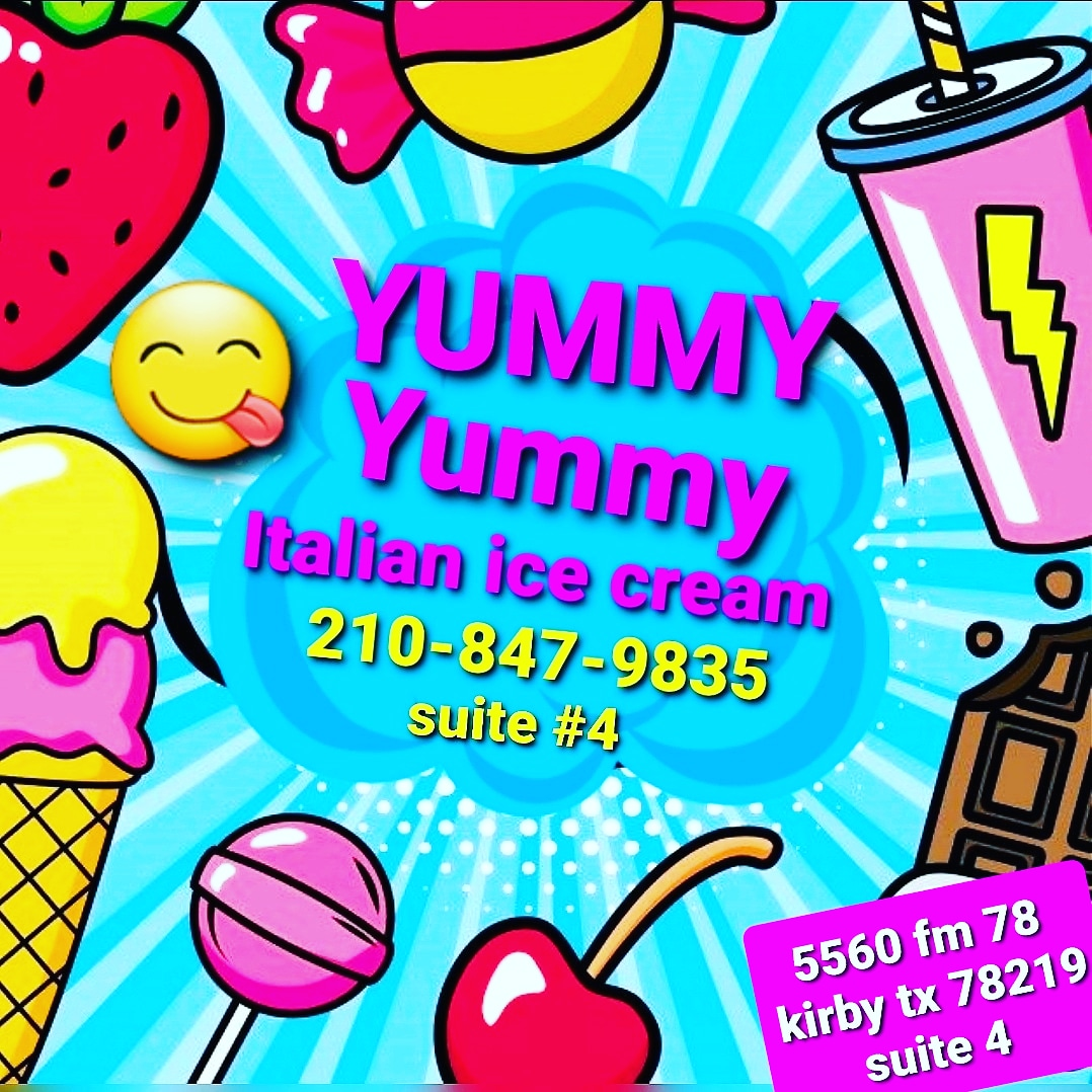 Yummy yummy Italian ice cream | meal takeaway | 5560 FM78, Suite 4, Kirby, TX 78219, United States | 2108479835 OR +1 210-847-9835