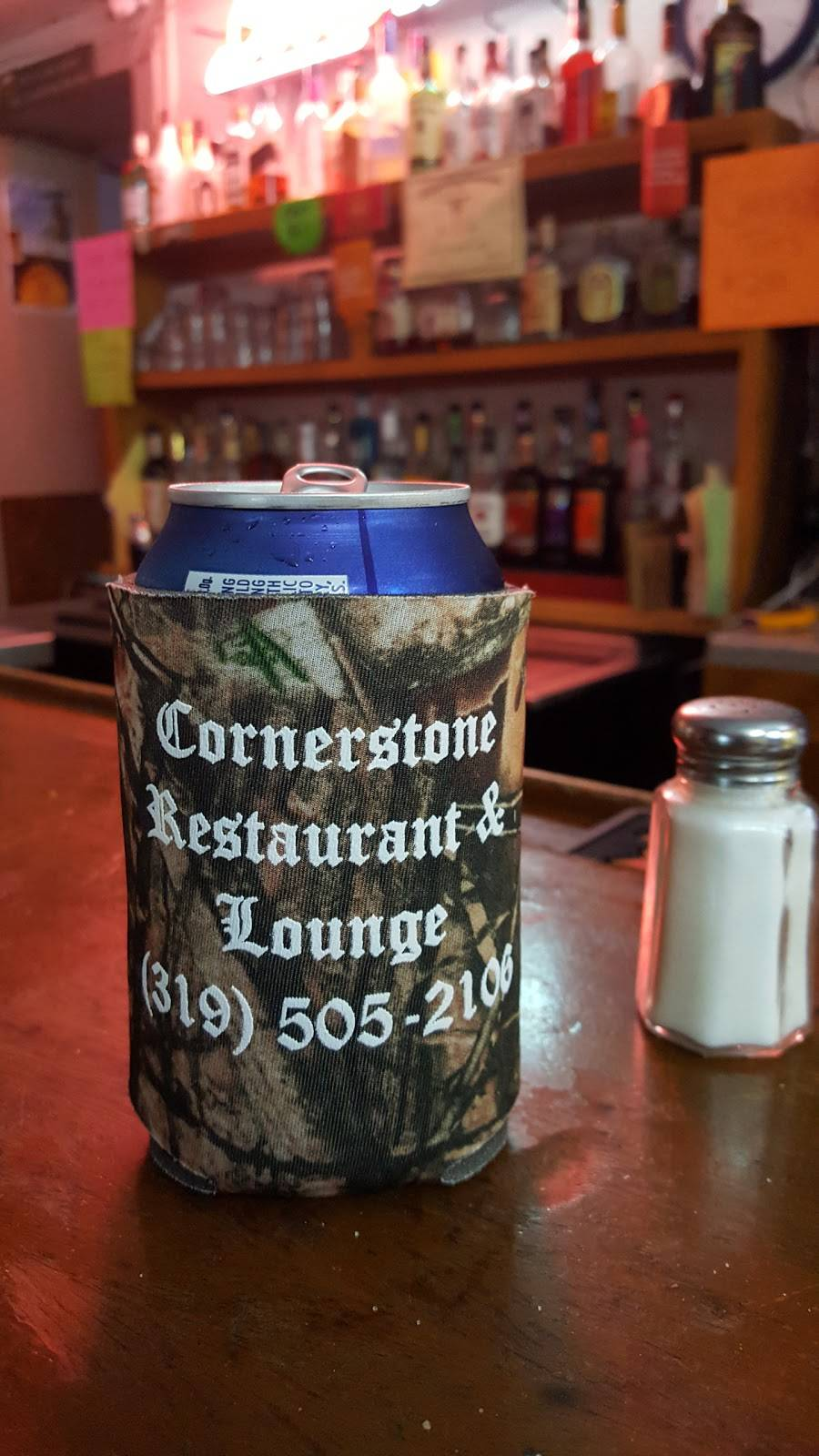 Cornerstone Restaurant and Lounge   restaurant   1406 5th St, Gilbertville, IA 50634, USA   3195052106 OR +1 319-505-2106