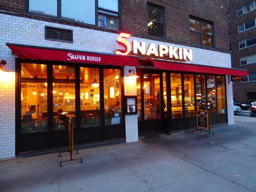 5 Napkin Burger | restaurant | 1325 2nd Ave, New York, NY 10021, USA | 2122490777 OR +1 212-249-0777