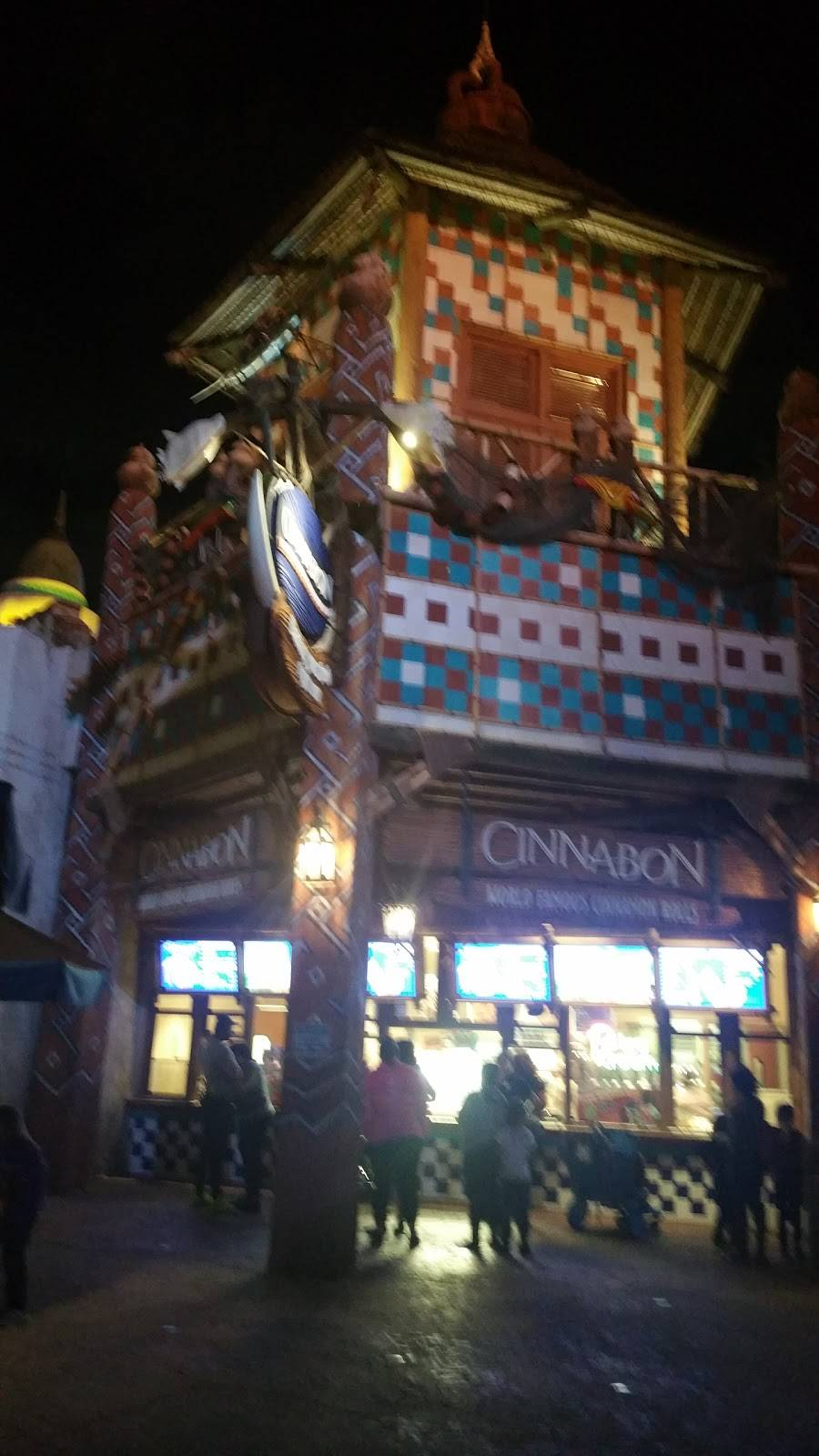 Cinnabon at Islands of Adventure   bakery   6000 Universal Blvd, Orlando, FL 32819, USA   4073638000 OR +1 407-363-8000