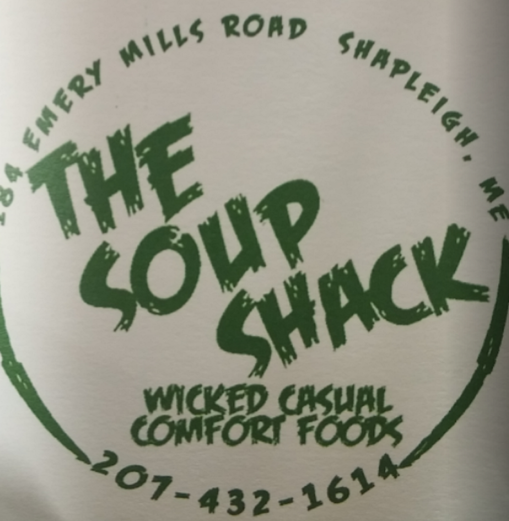 The Soup Shack   restaurant   184 Emery Mills Rd, Shapleigh, ME 04076, USA   2074321614 OR +1 207-432-1614