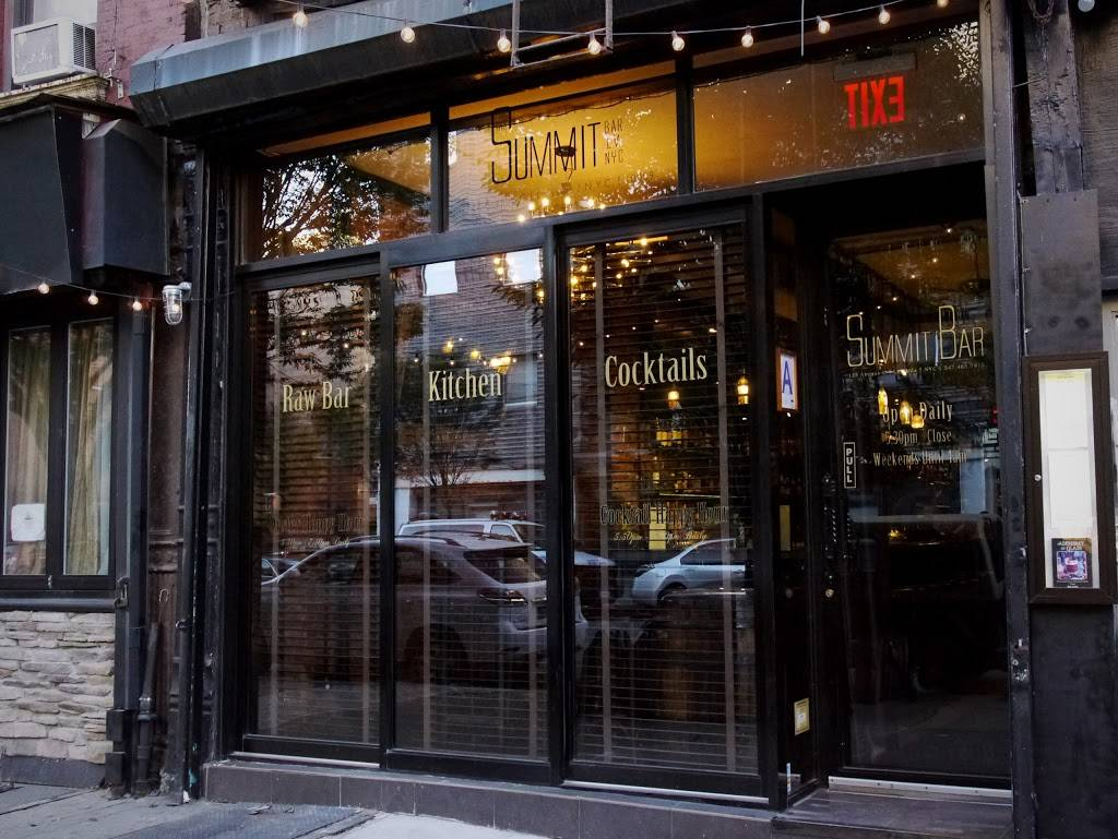 The Summit Bar | restaurant | 133 Avenue C, New York, NY 10009, USA | 3474657911 OR +1 347-465-7911