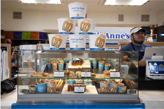 Auntie Annes   bakery   4000 Dorney Park Rd, Allentown, PA 18104, USA