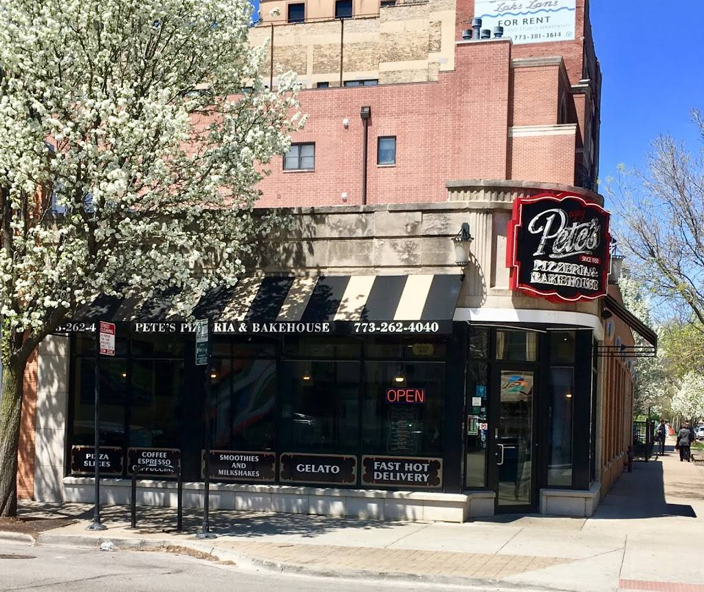 Petes Pizza and Bakehouse | cafe | 1100 W Granville Ave, Chicago, IL 60660, USA | 7732624040 OR +1 773-262-4040