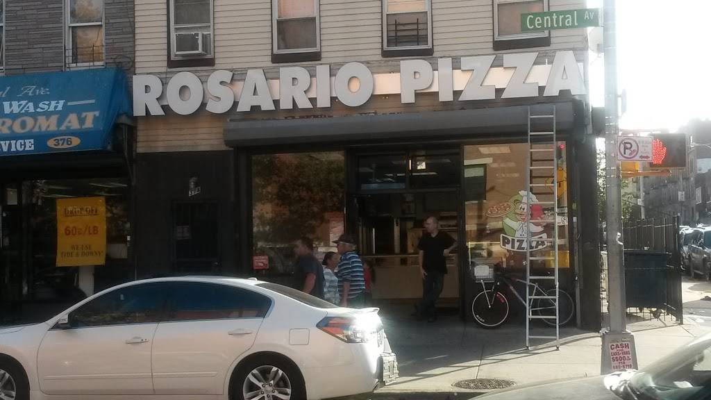 Rosario Pizza | restaurant | 374 Central Ave, Brooklyn, NY 11221, USA | 7184550949 OR +1 718-455-0949
