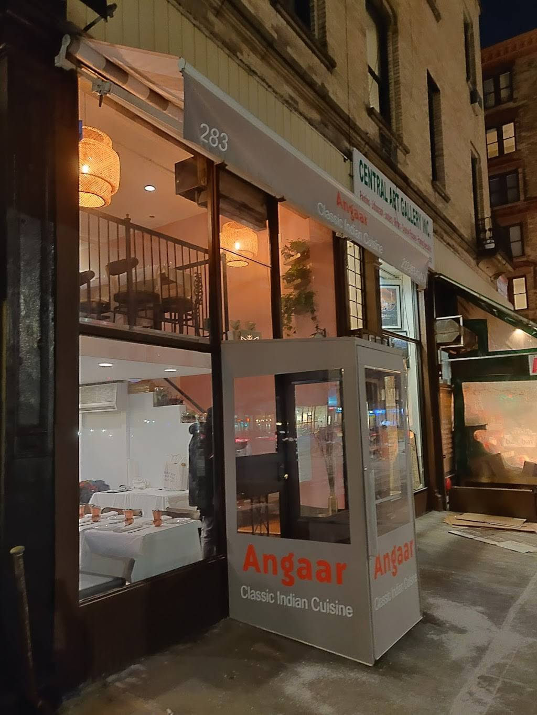 Angaar | restaurant | 283 Columbus Ave, New York, NY 10023, USA | 2123934040 OR +1 212-393-4040