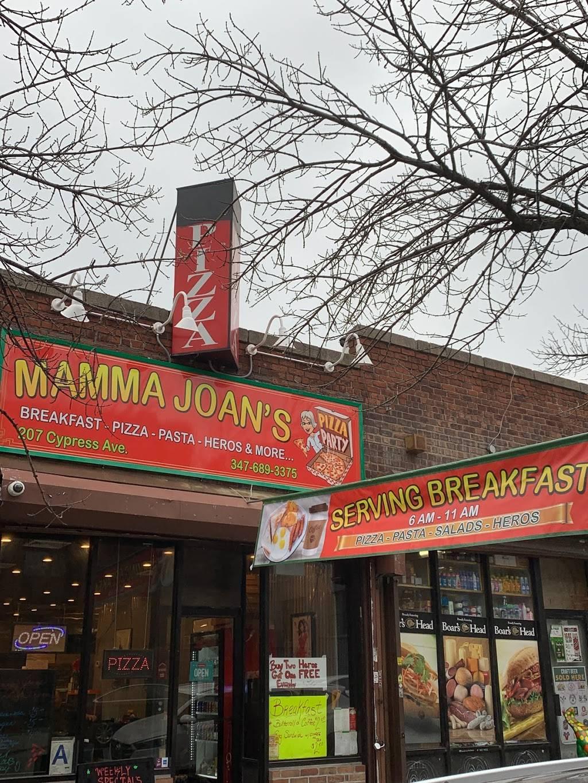 Mamma Joans | restaurant | 207 Cypress Ave, Ridgewood, NY 11385, USA | 3476893375 OR +1 347-689-3375