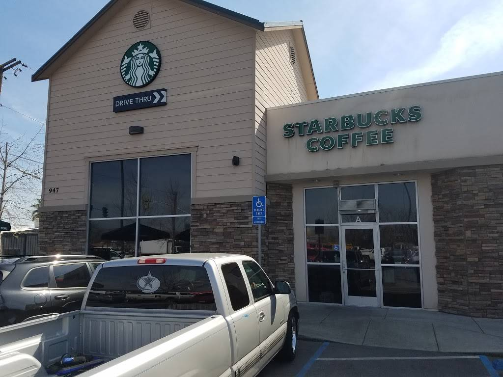 Starbucks | cafe | 947 W Olive Ave, Porterville, CA 93257, USA | 5597932857 OR +1 559-793-2857