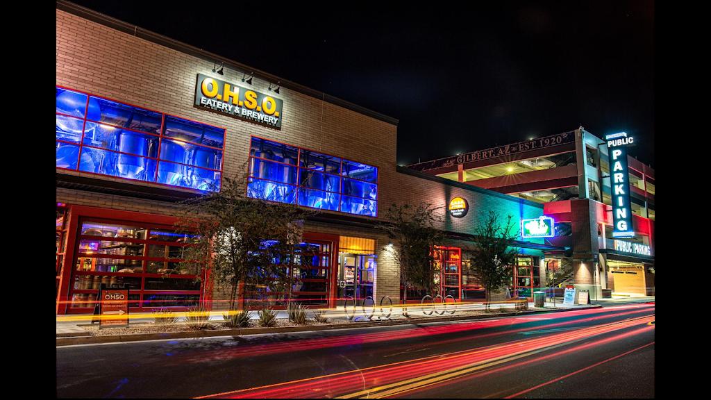 O.H.S.O. Brewery- Gilbert   restaurant   335 N Gilbert Rd #102, Gilbert, AZ 85234, USA   6029009004 OR +1 602-900-9004