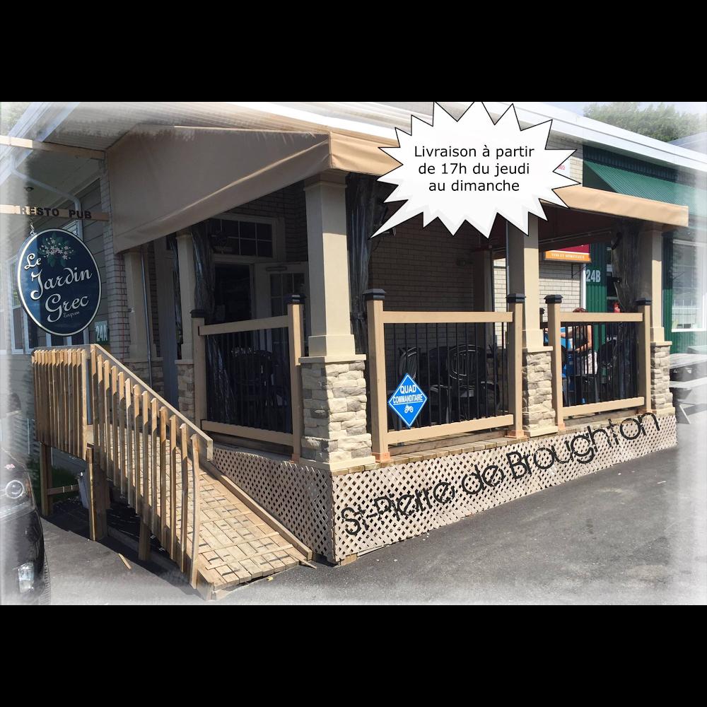 Le Jardin grec Express | restaurant | 24 Rue Saint Pierre, Saint-Pierre-de-Broughton, QC G0N 1T0, Canada | 4184243434 OR +1 418-424-3434
