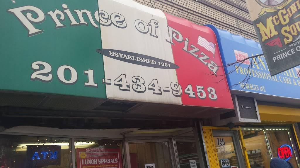 Prince of Pizza | meal delivery | 763 Bergen Ave, Jersey City, NJ 07306, USA | 2014349453 OR +1 201-434-9453