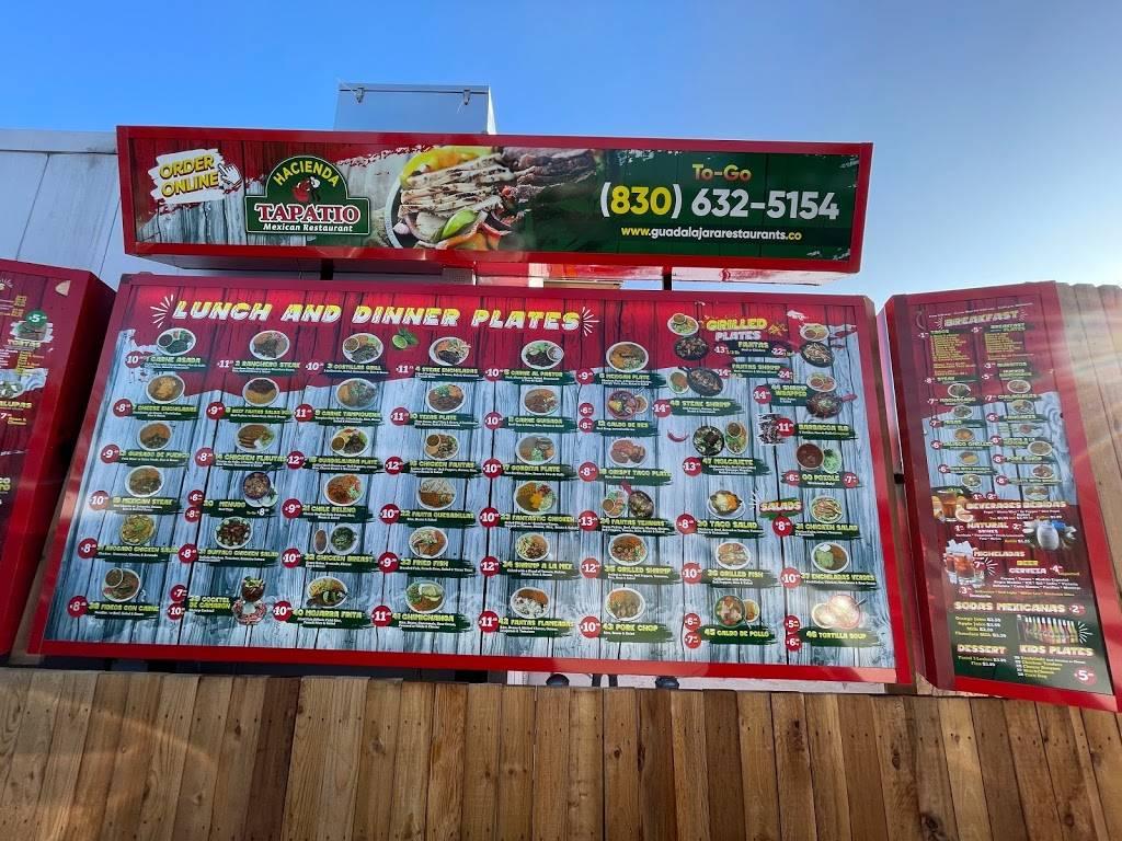Hacienda Tapatio Mexican Restaurant | restaurant | 585 S Business Ih 35, New Braunfels, TX 78130, USA