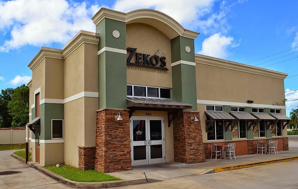 Zekos Mediterranean Grill   restaurant   4880 54th Ave N, St. Petersburg, FL 33714, USA   7275259356 OR +1 727-525-9356