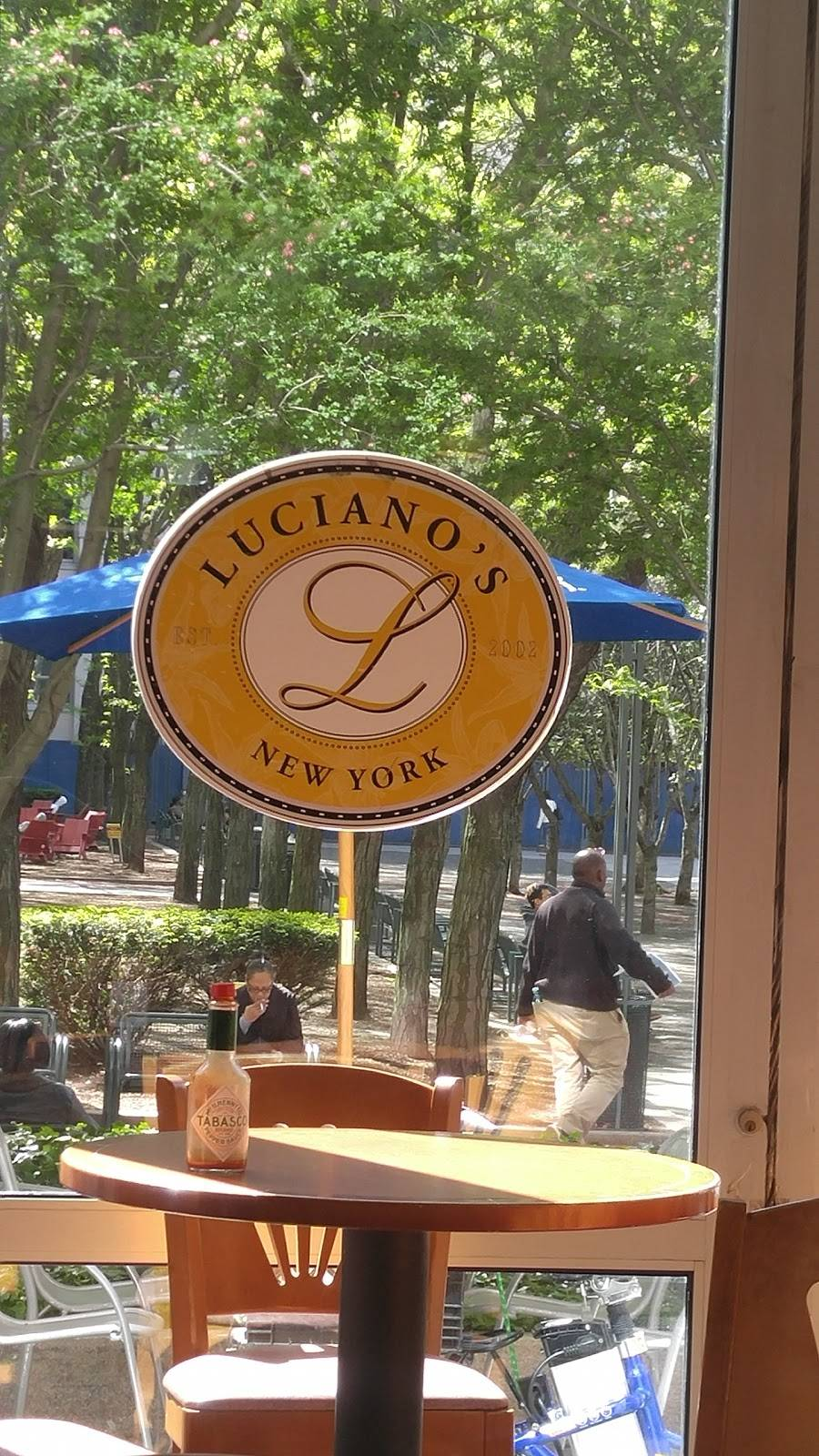 Lucianos | meal takeaway | 15 MetroTech Center, Brooklyn, NY 11201, USA | 7188556668 OR +1 718-855-6668