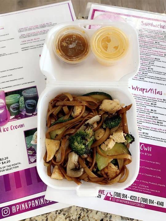 Pink Panini Soups & Salads | restaurant | 17505 Kedzie Ave, Hazel Crest, IL 60429, USA | 7089144331 OR +1 708-914-4331