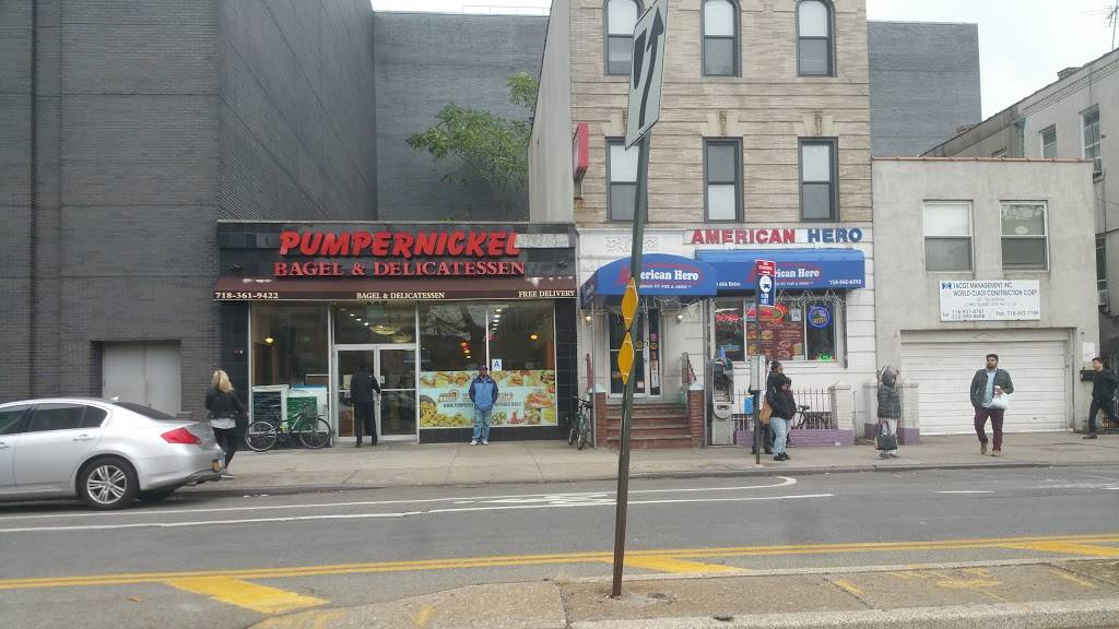Pumpernickel Bagel and Delicatessen | bakery | 2310 44th Dr, Long Island City, NY 11101, USA | 7183619422 OR +1 718-361-9422