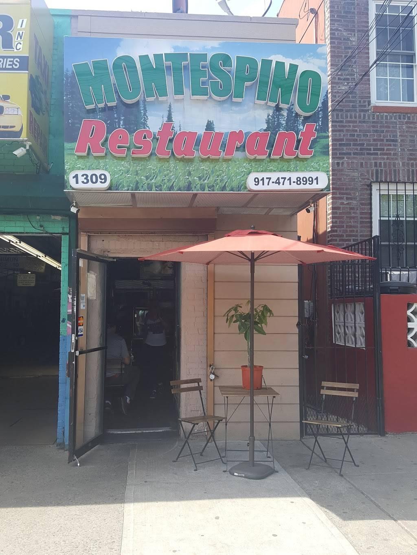 MONTESPINO RESTAURANT | restaurant | 1309 Bronx River Ave, Bronx, NY 10472, USA | 7189919005 OR +1 718-991-9005