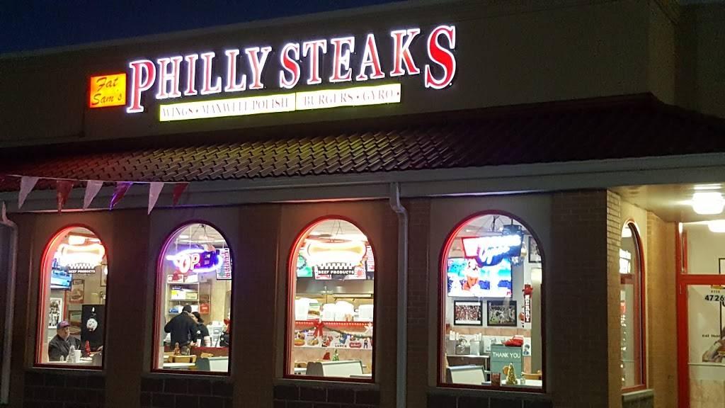 Fat Sams Philly Steaks   restaurant   4726 Calumet Ave, Hammond, IN 46327, USA   2199316400 OR +1 219-931-6400