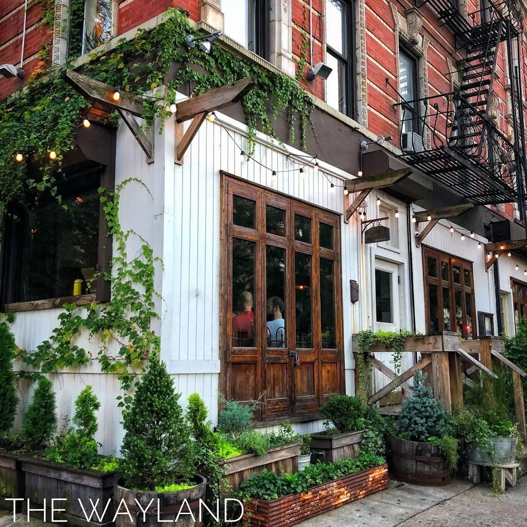 The Wayland | restaurant | 700 E 9th St, New York, NY 10009, USA | 2127777022 OR +1 212-777-7022