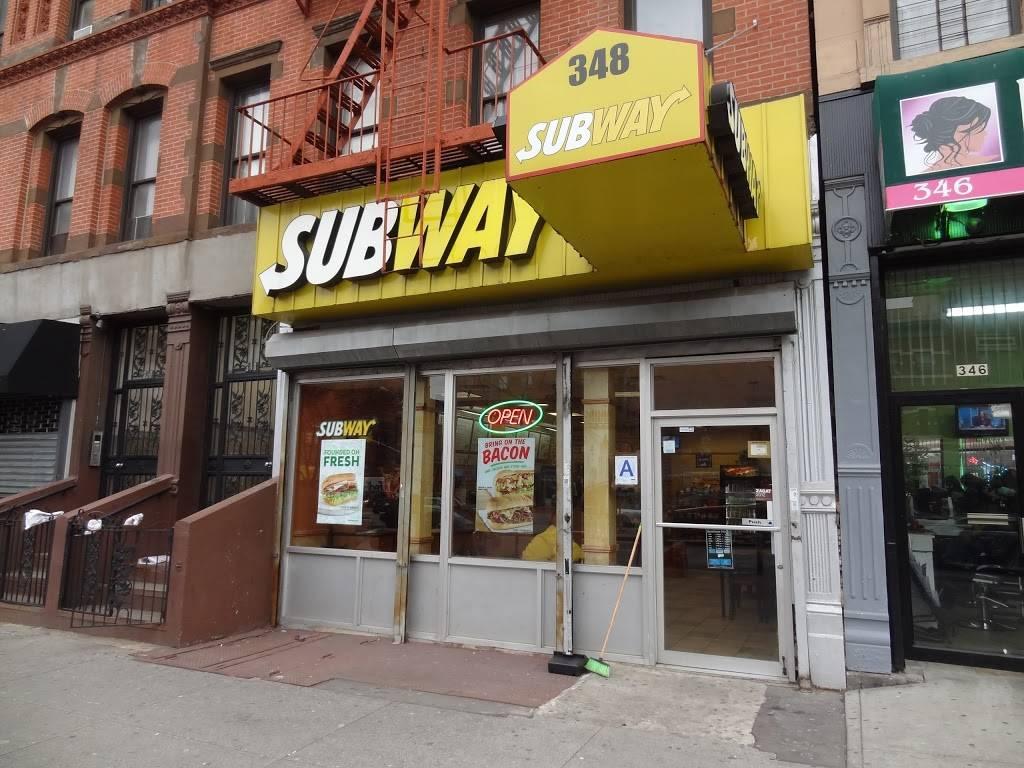 Subway Restaurants | restaurant | 348 Malcolm X Blvd, New York, NY 10027, USA | 6466844497 OR +1 646-684-4497