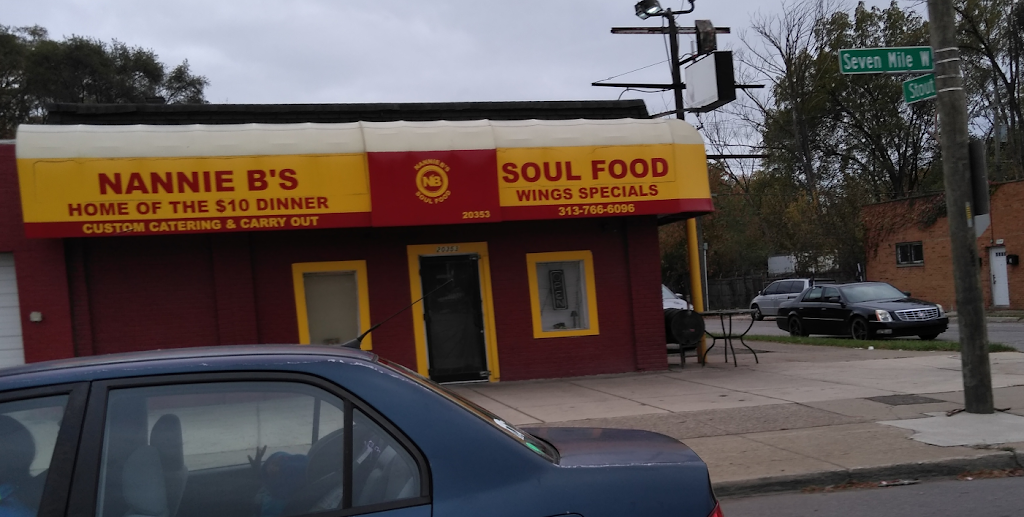 Nannie Bs Soul Food | restaurant | Detroit, MI 48219, USA