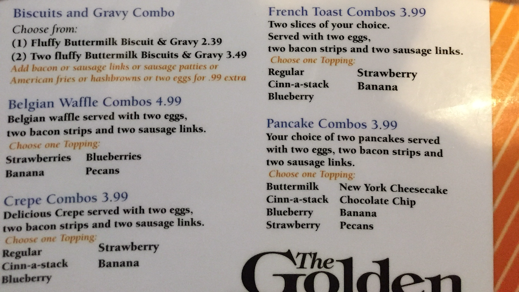 The Golden Pancake House | restaurant | 720 W Broadway, Centralia, IL 62801, USA | 6189183179 OR +1 618-918-3179