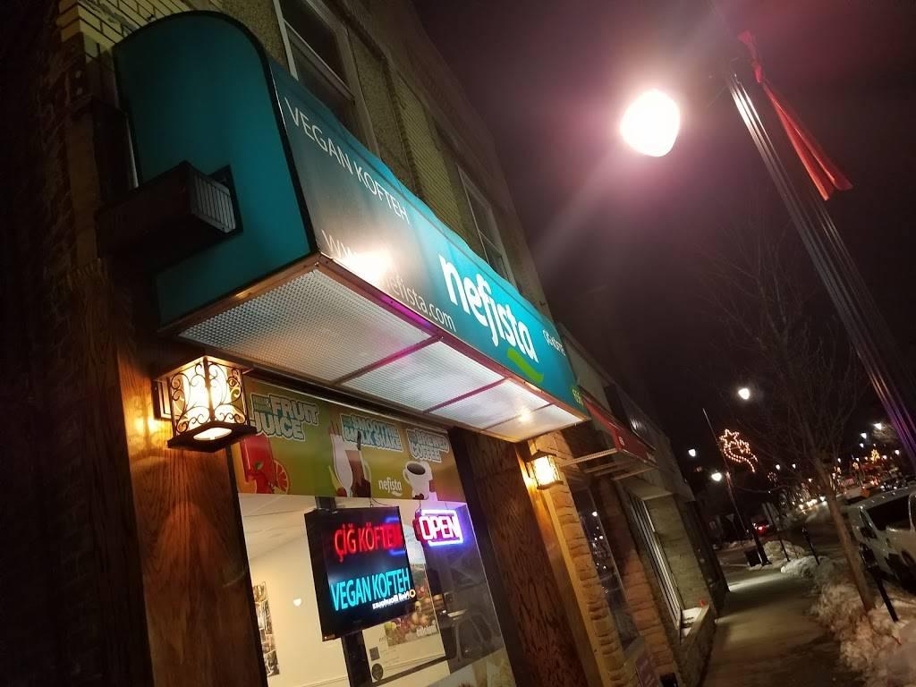 Nefista Vegan Kofteh / Çiğ Köfte   restaurant   656 Anderson Ave, Cliffside Park, NJ 07010, USA   2017744080 OR +1 201-774-4080