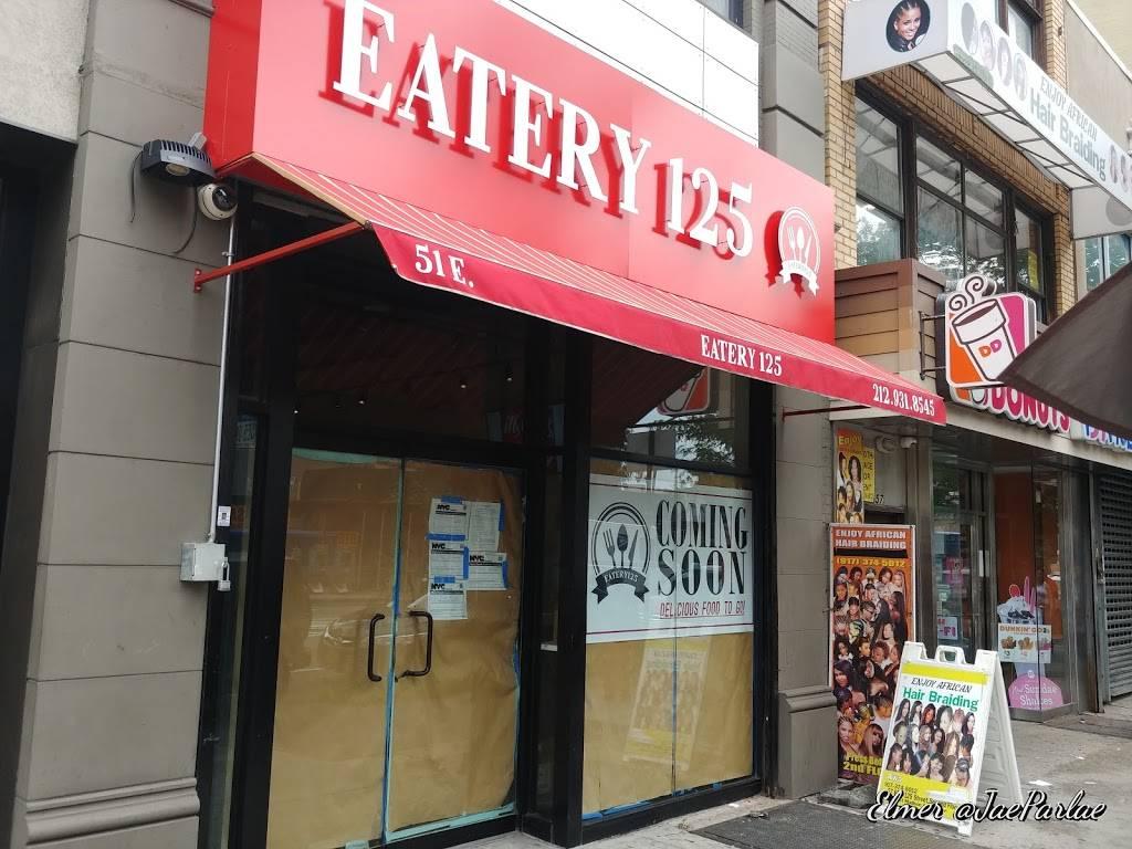 Eatery 125 | restaurant | 51 E 125th St, New York, NY 10035, USA | 2129318545 OR +1 212-931-8545