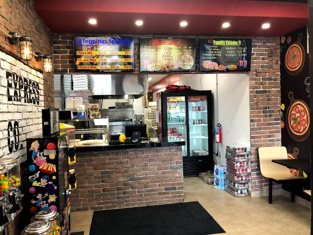 Pizza Express Meal Delivery 248 Stirling Ave S