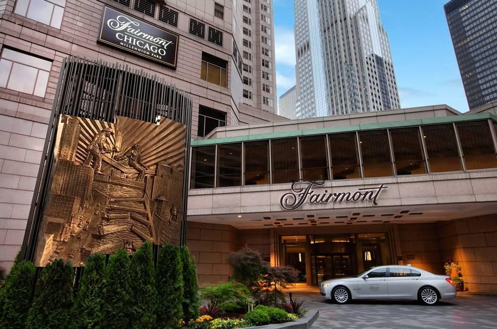 Fairmont Chicago Millennium Park   restaurant   200 N Columbus Dr, Chicago, IL 60601, USA   3125658000 OR +1 312-565-8000