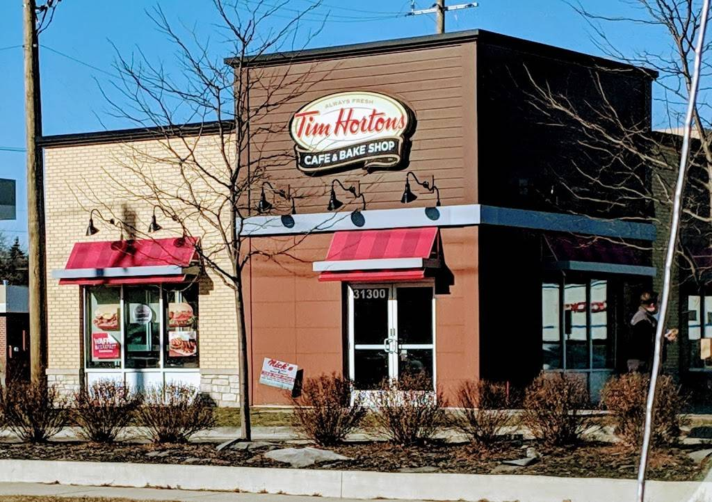 Tim Hortons | restaurant | 31300 Five Mile Rd, Livonia, MI 48154, USA | 7344218100 OR +1 734-421-8100